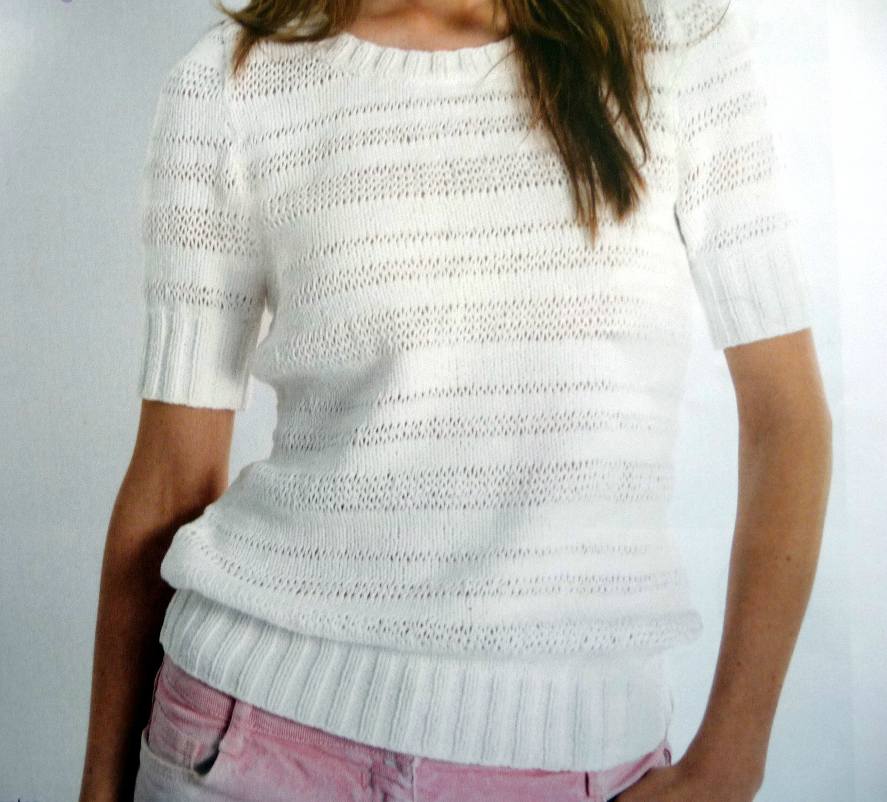 Tricot pull aiguille 7