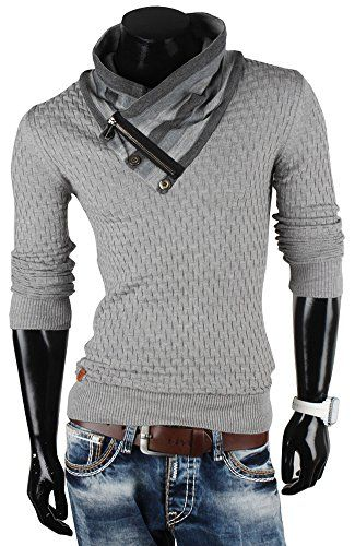 Tricotage pull homme