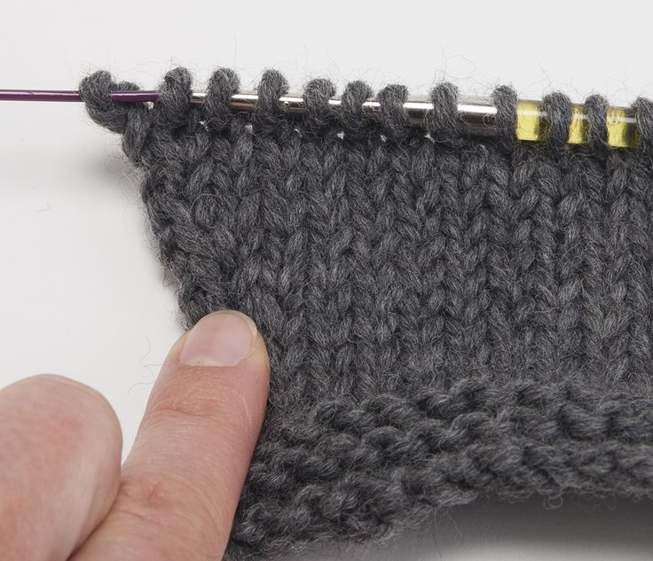 Tricot augmentation maille