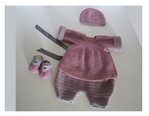 Brassiere bebe fille tricot