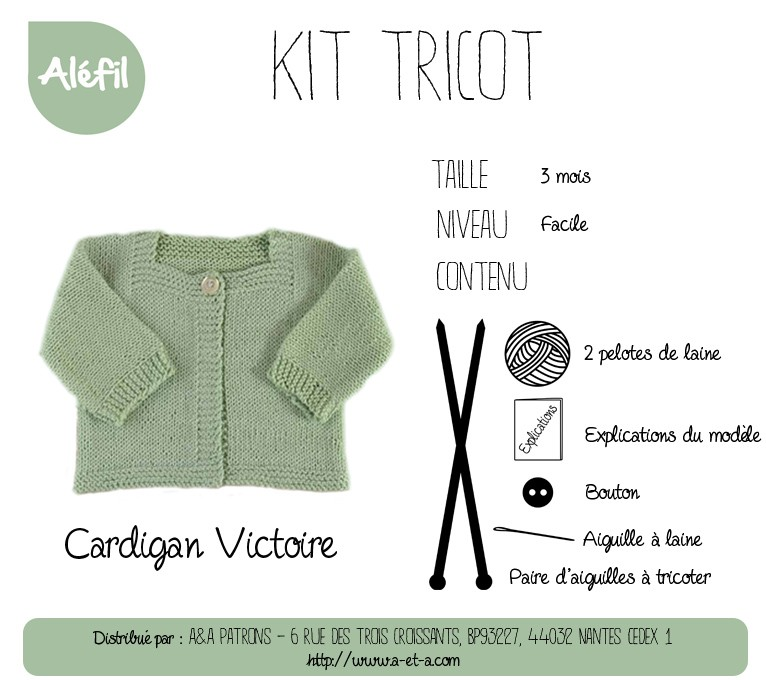 Kit tricot layette