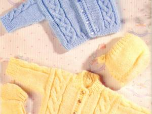 Tricot layette explication gratuite